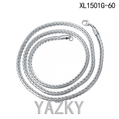 Stainless steel high polishing chain necklace for men