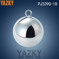 Customize size ball shape stainless steel charm pendant